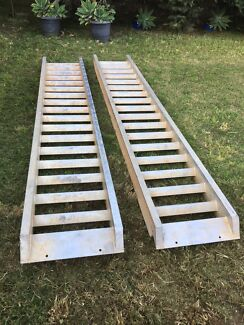 6 Tonne Aluminium Machinery Loading Ramps