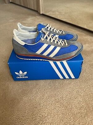 Adidas SL72 Vintage, Mens, Size 10UK, Blue/Slate, Worn but in good condition.
