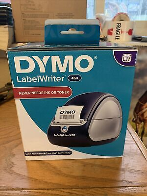Dymo Labelwriter 450 Thermal Label Printer Brand New In Box