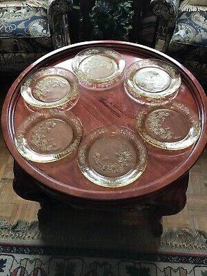 Set Of 6 Cabbage Rose Plates for sale  Hampton
