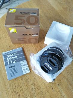 Nikon Nikkor 50mm 1.2 Ai-s