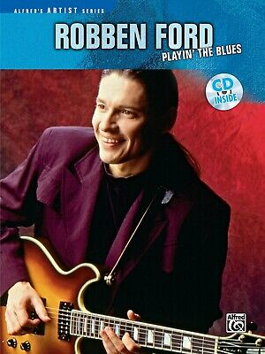 Robben Ford Sheet Music Signature Licks Guitar Book and CD NEW 000695903