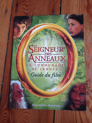 Livre Le Seigneur des Anneaux : Guide du film La Communauté de l'anneau - TBE