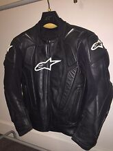 Alpinestars Racing Leather Jacket Ryde Ryde Area Preview
