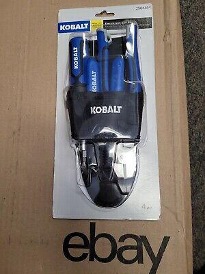 New Kobalt Electricians Tool Kit 2564364 Model 65275740 Free Shipping