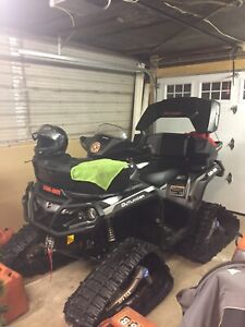 Mint 2017 1000 outlander with tracks