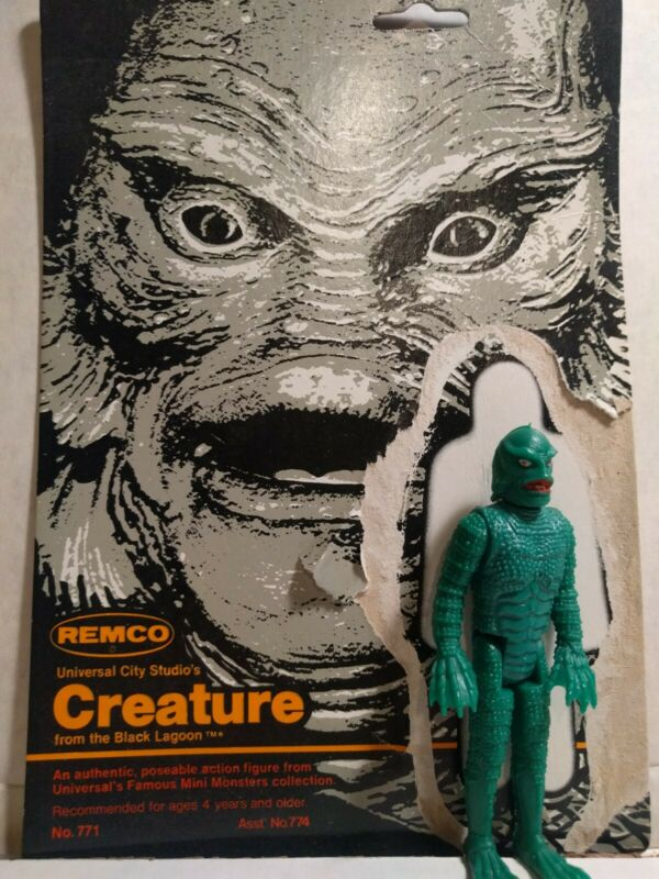 First release Remco 1980 Universal Creature excellent w/scarce non-glow card