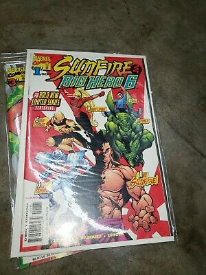 Sunfire & Big Hero 6 Lot - Complete Mini Series Set w/#s 1-3 ()