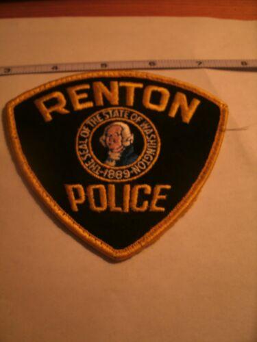 RENTON POLICE PATCH