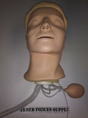 Laerdal Resusci Anne Manikin Head Nursing First Aid Training Simulator Cpr Emt