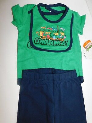 Teenage Mutant Ninja Turtles Outfit (Teenage Mutant Ninja Turtles Infant Boys Size 3 6 Month Outfit Pants Shirt)