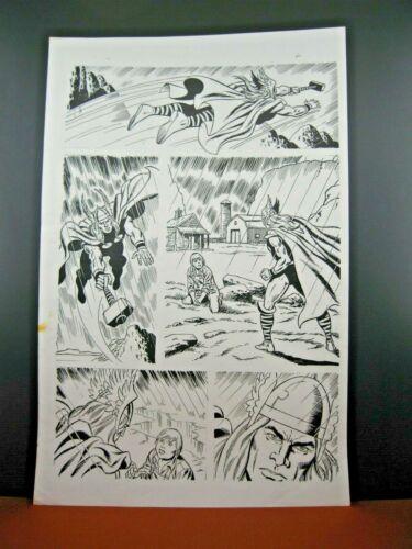 Thor - John Buscema? Unknown Title - 15 Pages - 11x17 - Original Production Art!