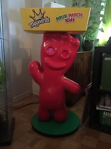 Sour patch kids display