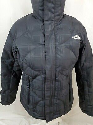 The North Face Womens 600 Down Nuptse Puffer Jacket Size M Black EUC