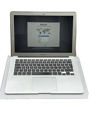 "Apple MacBook Air A1466 13.3"" Laptop i1.7 Processor 8GB RAM 128GB SSD June 2013"