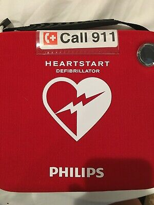 Philips M5066a Heartstart Onsite Aed Defibrillator - Never Used Open Case