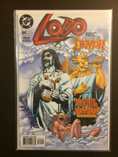 Lobo #64 first printing DC comic book