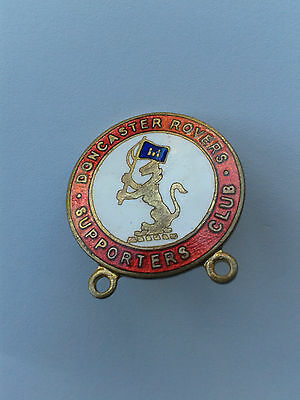 DONCASTER ROVERS VINTAGE SUPPORTERS CLUB BADGE