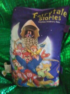 Fairytale Storybook Pillow Plush Bedtime Little red riding hood,hanzel&gretel