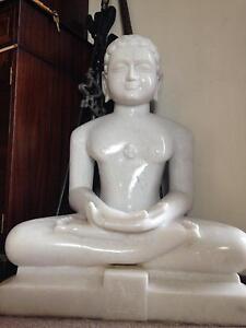 Jain Statue white marble 140 kg sarine East Fremantle Fremantle Area Preview