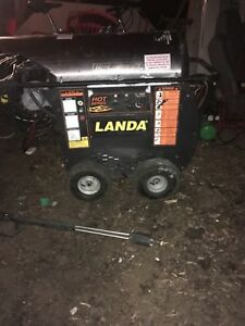 Landa Hot Series Pressure washer