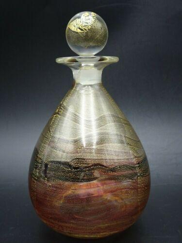 VINTAGE GOZO GLASS PERFUME BOTTLE