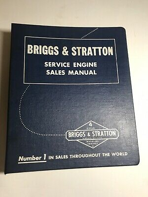 1974 Vintage Briggs Stratton Service Manual 4-cycle Gasoline Engines