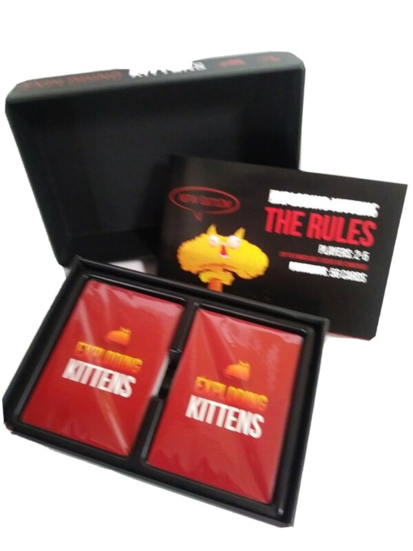 Exploding Kittens A Card Game NSFW Deck 2015 New