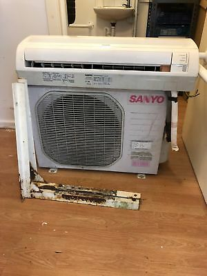 SANYO AIR CONDITIONING UNIT WALL MOUNT 3.5kW 13000BTU SAP-CR123EH SAP-KR123EH