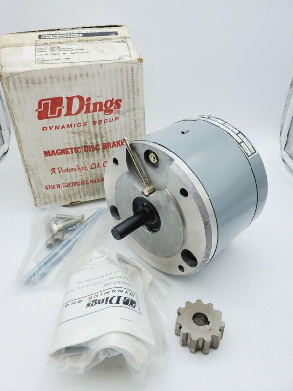 Dings Dynamics Magnetic Disc Brake D6-61001-51A 90vdc 1.5 Ft lbs.