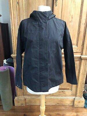 Womens Small Stutterheim Water Resistant Jacket Hooded Ostersund