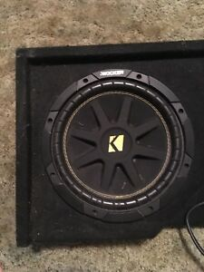 "Two 10"" kicker subs"