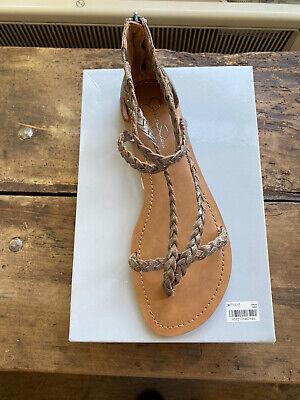 Jessica Simpson JS-Jalen Pair Of Summer Flat Sandals - UK 8/USA 10M  (BNIB)