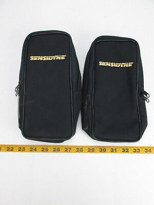 2 Sensidyne Accessory Bags For Gas Dectection Pump Ap-1s Bag Only Black Skubcs2