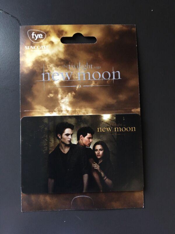 F.Y.E. Twilight Saga New Moon 2009 Gift Card ( $0 )  Poster Artwork Style 1