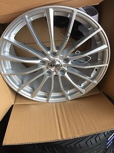 """BRAND new 18"""" package all season tires and rims $1100 OBO"""