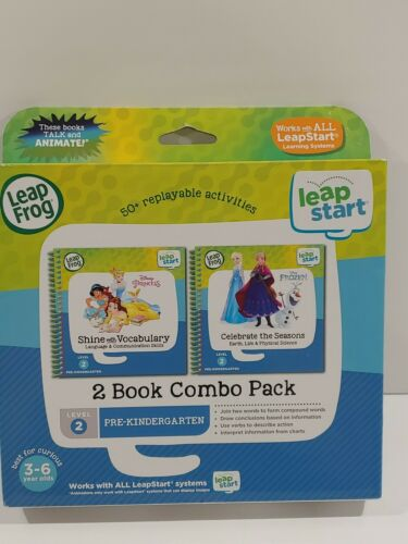 LeapFrog LeapStart 2 Book Combo Disney Princess Vocabulary C