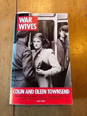 """1990 """"WAR WIVES"""" WW2 TRUE STORY ILLUSTRATED PAPERBACK BOOK"""