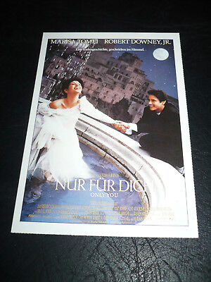 Only You  Film Card  Marisa Tomei  Robert Downey Jr