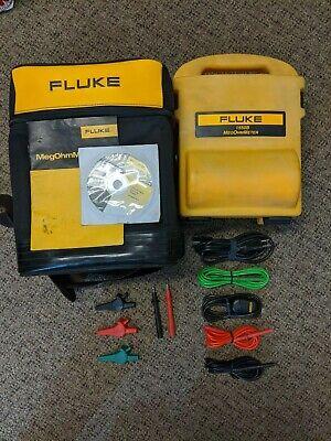 Fluke 1550b Insulation Tester Megger Megohmmeter 5kv 5000v Volt