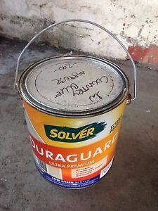 Brand New 4L Solver Duragaurd Low Sheen Acrylic Paint Inglewood Stirling Area Preview