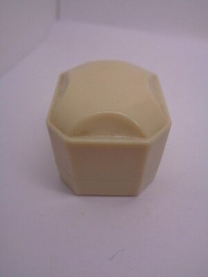 ART DECO EARLY BAKERLITE, LUCITE RING BOX JEWELLERY BOX ALCA MADE IN ENGLAND