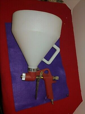Air Hopper Spray Gun Paint Texture Tool Drywall Wall Painting Sprayer 1 Nozzle
