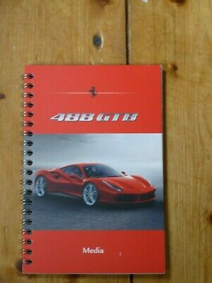 Ferrari 488 GTB Media Notebook
