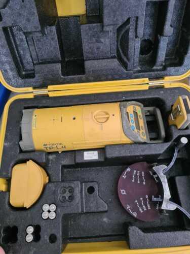 Topcon TP-L4 Tornado Pipe Laser System With Remote RC-200 & Case