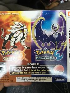 Pokémon sun and moon dual pack game