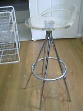 chrome/perspex bar stool x 1 .. Greenfield Park Fairfield Area Preview