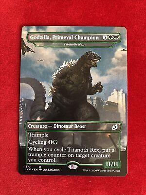 MTG 1x Godzilla Primeval Champion NM Ikoria: Lair of Behemoths Magic
