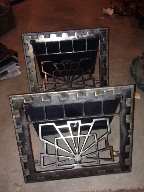 Gr 12 Two Available Deco Well Greats 10 X 12 Opening Antique