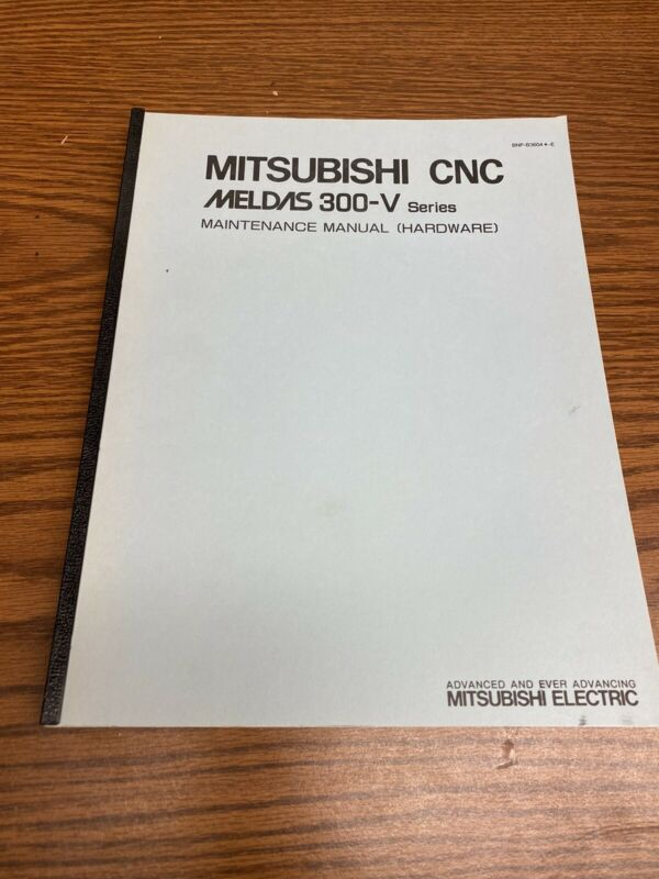 CNC MITSUBISHI MELDAS 300-V Maintenance Manual Electric